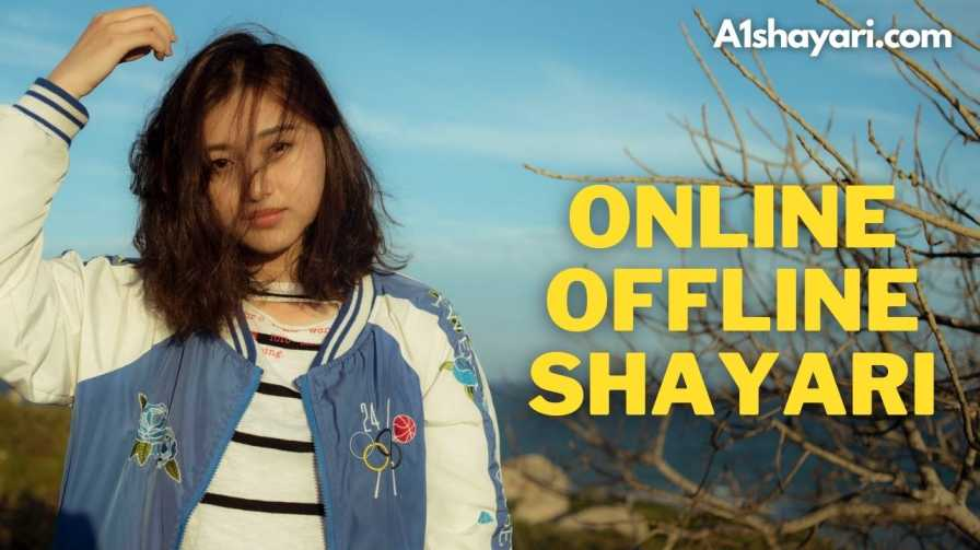 [Best  100+] Online Offline Shayari In Hindi